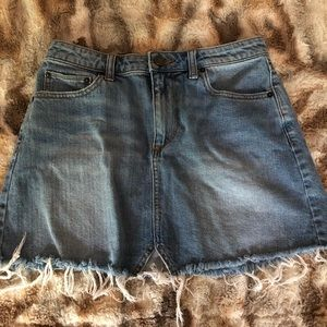 Urban Outfitters denim skirt. Bought wrong size.